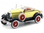 1931 Ford Model A Roadster Bronson Yellow 1:18 Sun Star 6122