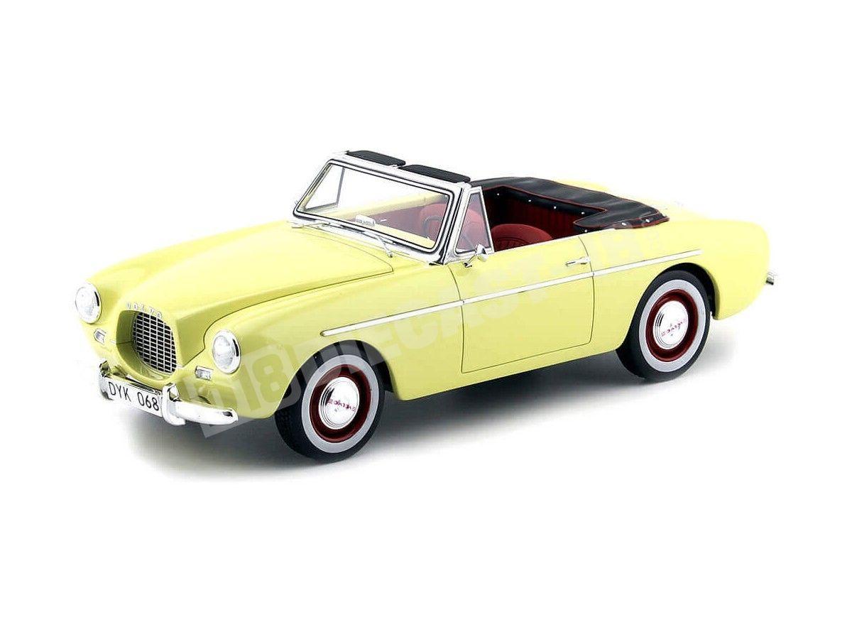 1956 Volvo P1900 Amarillo Claro 1:18 BoS-Models 057 Cochesdemetal.es