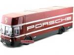 1970 Mercedes-Benz 317 Renntransporter Porsche Team 1:18 Schuco 32000