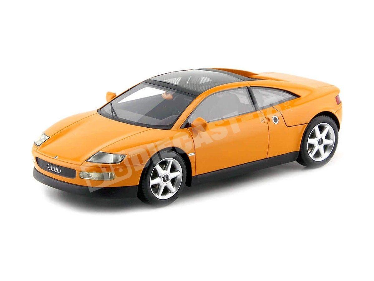 1991 Audi Quattro Spyder Naranja 1:18 BoS-Models 067 Cochesdemetal.es