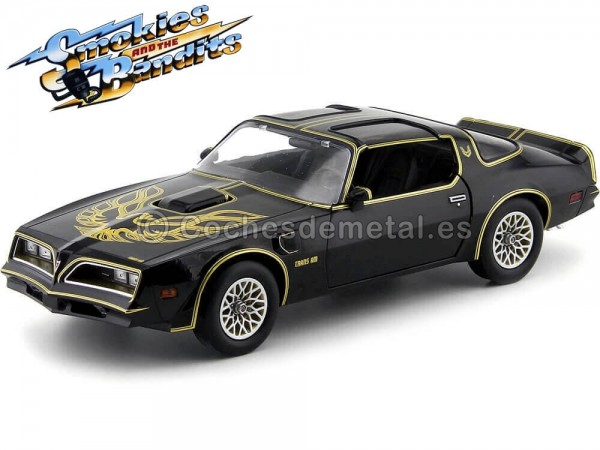 "1977 Pontiac Trans Am ""Smokey and the Bandit - Los Caraduras"" 1:18 Greenlight 19025 Cochesdemetal.es"