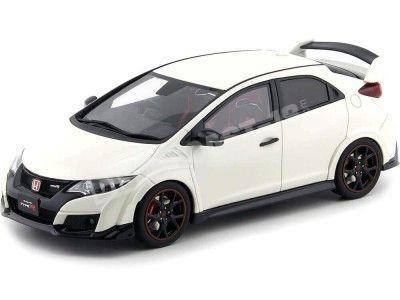 2015 Honda Civic Type R White 1:18 Kyosho Samurai KSR18022W Cochesdemetal.es