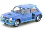 1981 Renault R5 Turbo 1 Metallic Blue 1:18 IXO Models 18CMC005