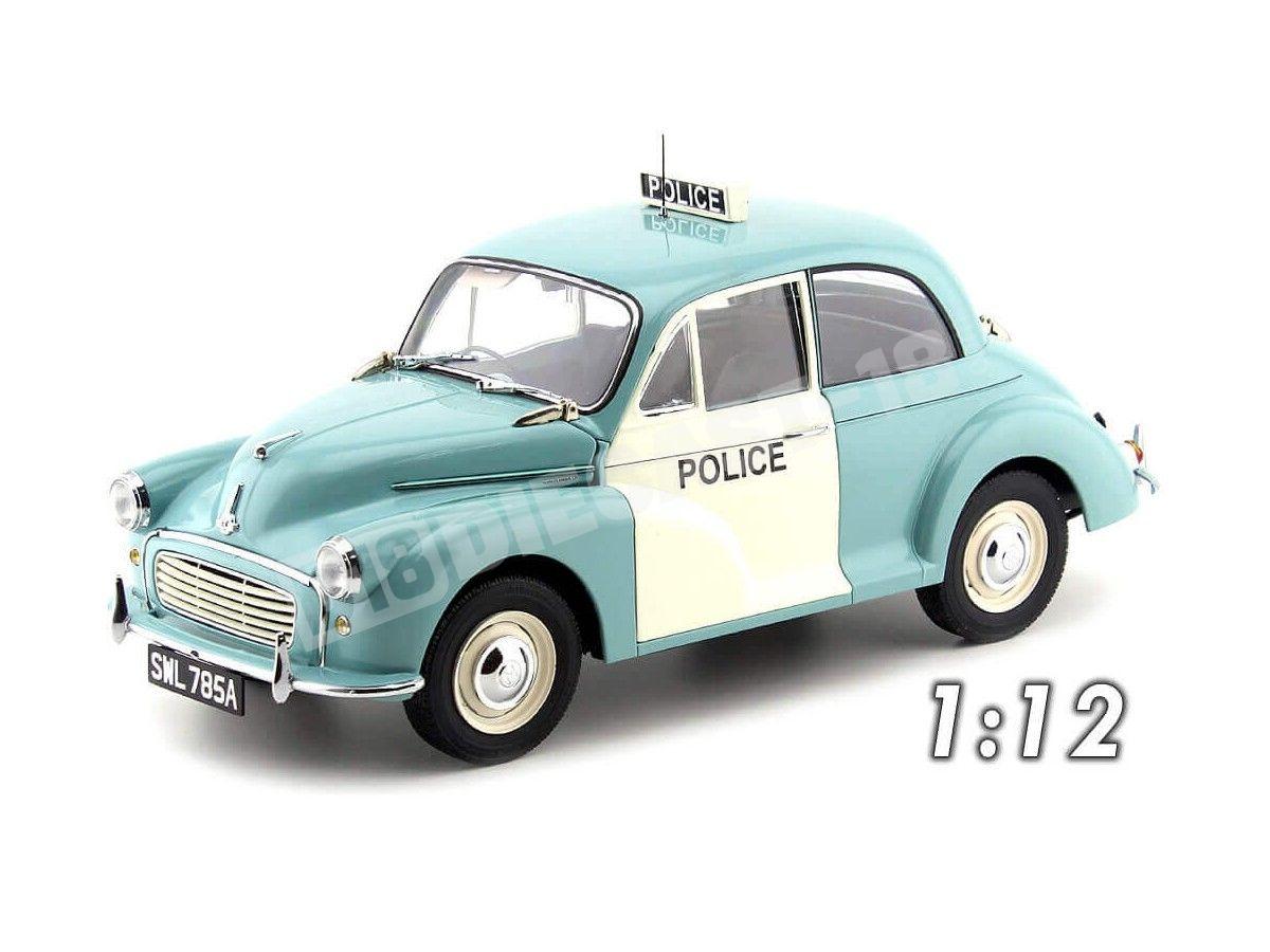 1964 Morris Minor UK Police Light Blue 1:12 Sun Star 4785 Cochesdemetal.es