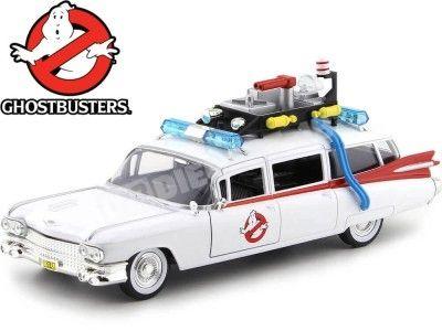 1959 Cadillac Ambulance Ecto-1 Ghostbusters Cazafantasmas 1:24 Jada Toys 99731 Cochesdemetal.es