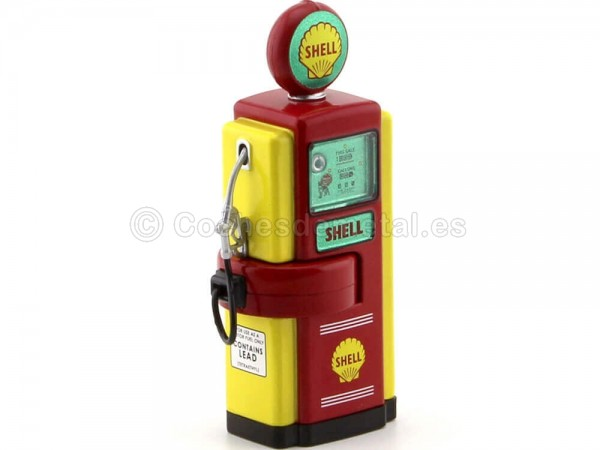 1948 Wayne 100-A Gas Pump Shell Oil 1:18 Greenlight 14010B Cochesdemetal.es