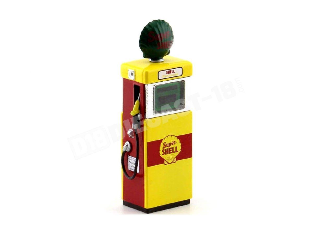 1951 Wayne 505 Gas Pump Shell Oil 1:18 Greenlight 14030B Cochesdemetal.es