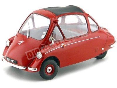 1956 Heinkel Kabine LHD Spartan Red 1:18 Oxford 18HE002 Cochesdemetal.es