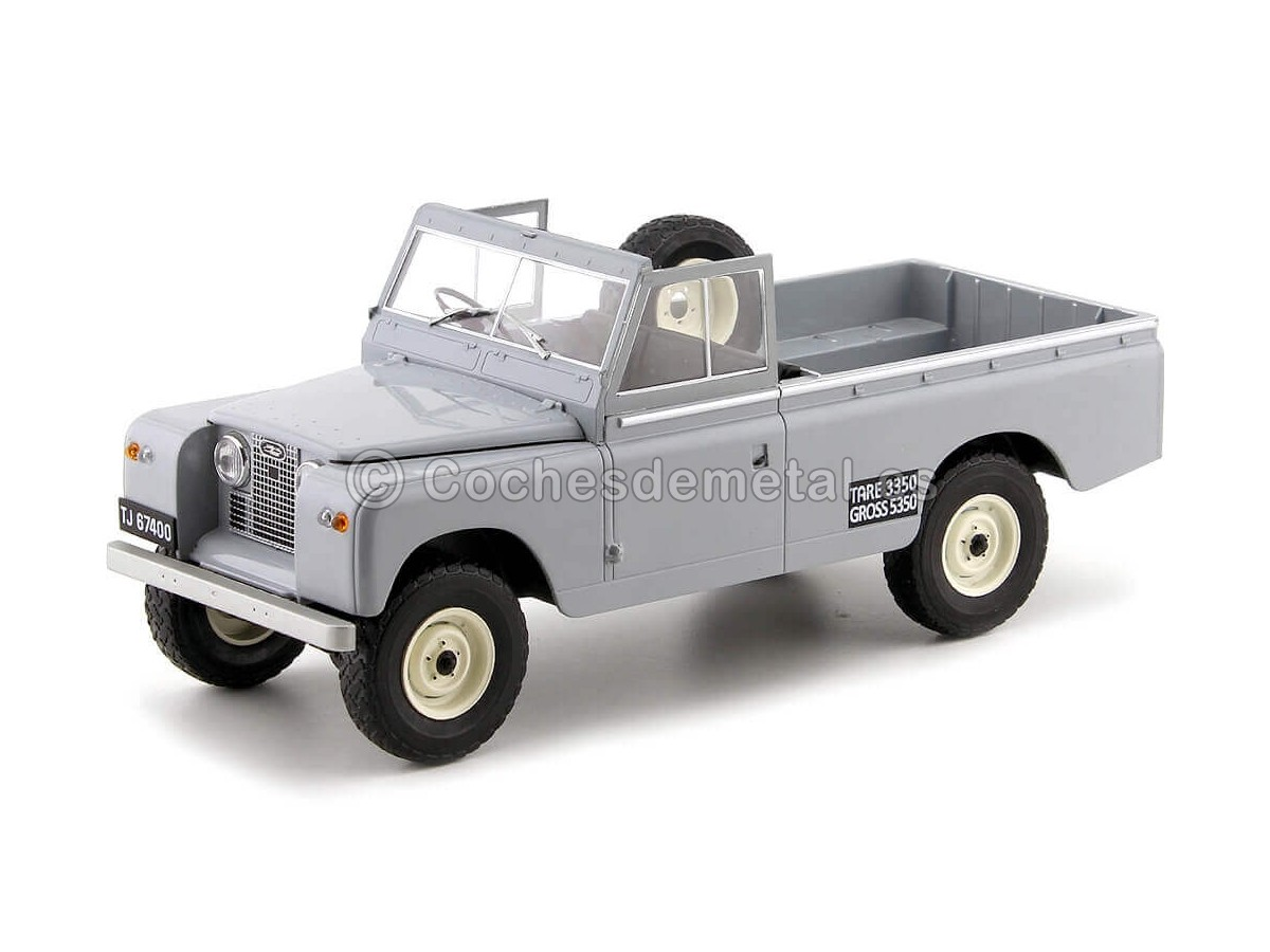 1959 Land Rover 109 Pick Up Series II Gris 1:18 MC Group 18092 Cochesdemetal.es