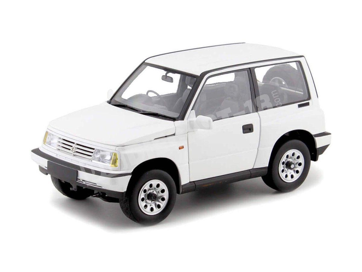 1995 Suzuki Vitara-Escudo Blanco 1:18 Dorlop 1000Aw Cochesdemetal.es