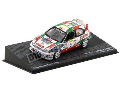 1998 Toyota Corolla WRC Carlos Sainz Rally Monte Carlo 1:43 Altaya IXO2 Cochesdemetal.es