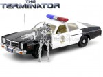"1977 Dodge Monaco Police ""T-800 Endoskeleton Terminator"" 1:18 Greenlight 19042"