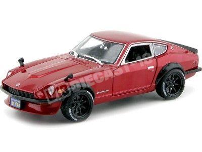 1971 Datsun 240Z Rojo Metalizado 1:18 Maisto Design 32611 Cochesdemetal.es