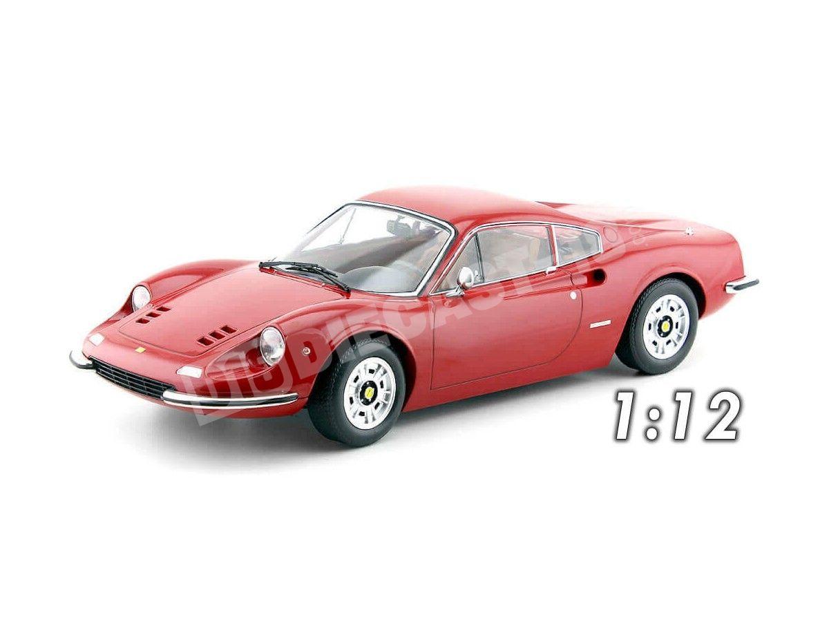 Detalles De 1973 Ferrari 246 Gt Dino Red 112 Kk Scale 120021