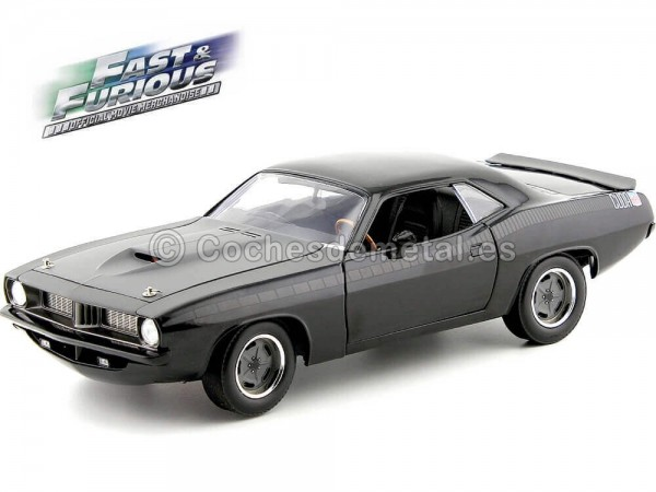 "2011 Plymouth Cuda Barracuda ""Fast and Furious VII"" 1:18 Highway-61 18005 Cochesdemetal.es"