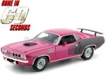 "1971 Plymouth Hemi Cuda ""60 Segundos - Shannon"" 1:18 Highway-61 18010"