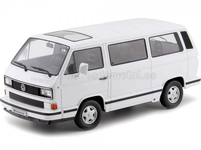 1993 Volkswagen Bus T3 White Star Blanco 1:18 KK-Scale 180201 Cochesdemetal.es