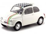 1968 Fiat 500 L Italia Blanco 1:18 Solido 1801403