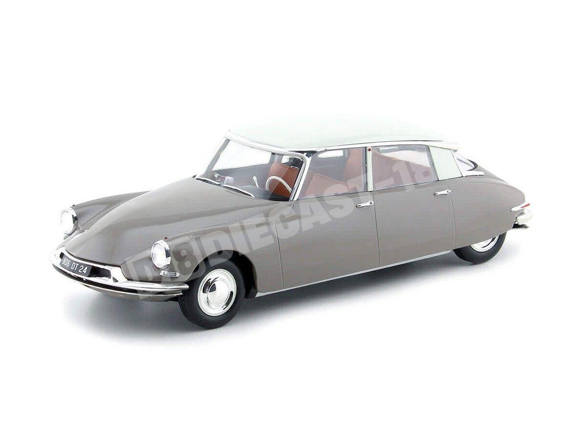 1959 Citroen DS 19 Marron Glace 1:18 Norev 181481 Cochesdemetal.es