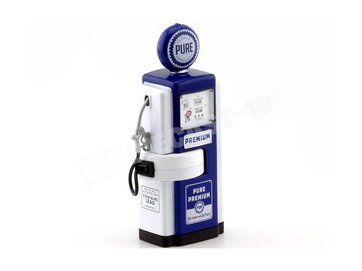 1948 Wayne 100-A Gas Pump Pure Oil 1:18 Greenlight 14030A Cochesdemetal.es
