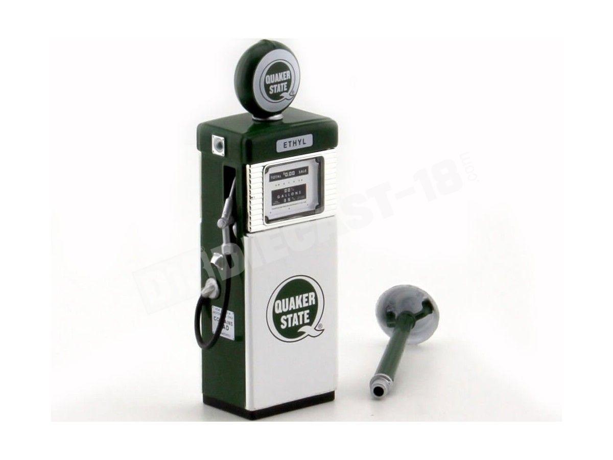1951 Wayne 505 Gas Pump Quaker State 1:18 Greenlight 14050A Cochesdemetal.es