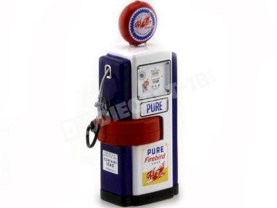 1948 Surtidor Wayne 100-A Gas Pump Pure Firebird 1:18 Greenlight 14050B Cochesdemetal.es