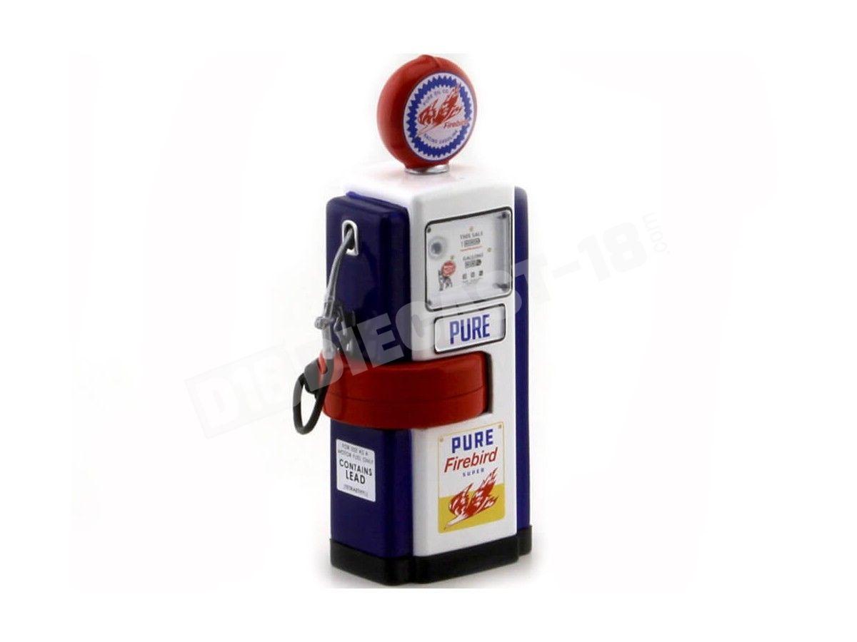 1948 Wayne 100-A Gas Pump Pure Firebird 1:18 Greenlight 14050B Cochesdemetal.es