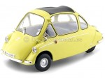 1956 Heinkel Kabine LHD Yellow 1:18 Oxford 18HE003