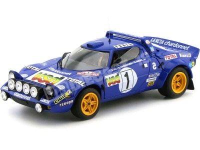 "1980 Lancia Stratos HF ""2nd Rally Monte Carlo"" 1:18 Sun Star 4519 Cochesdemetal.es"