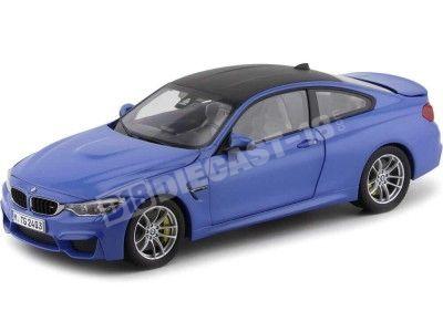 2014 BMW M4 F82 Coupe Yas Mina Blue 1:18 Dealer Edition 80432339607 Cochesdemetal.es