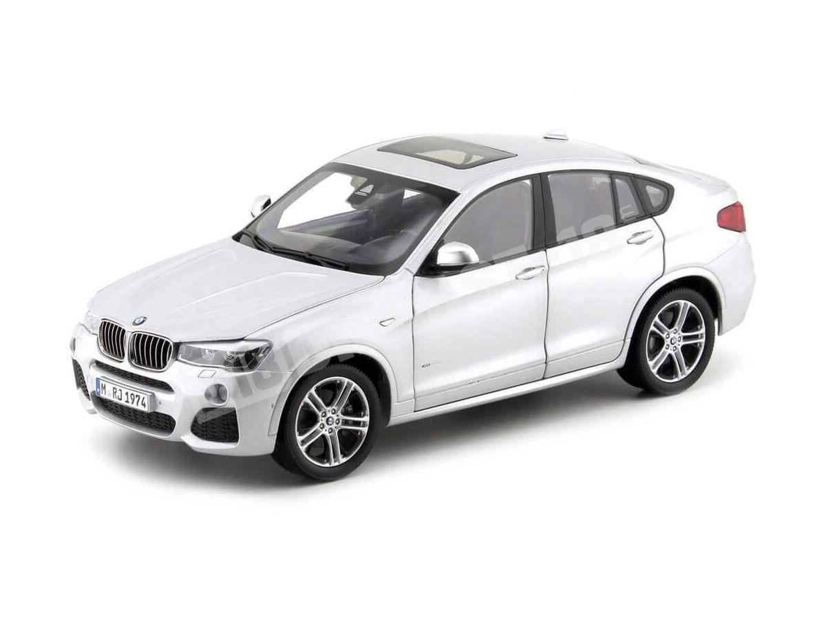 2014 BMW X4 F26 xDrive 35d Glacier Silver 1:18 Dealer Edition 80432352457 Cochesdemetal.es