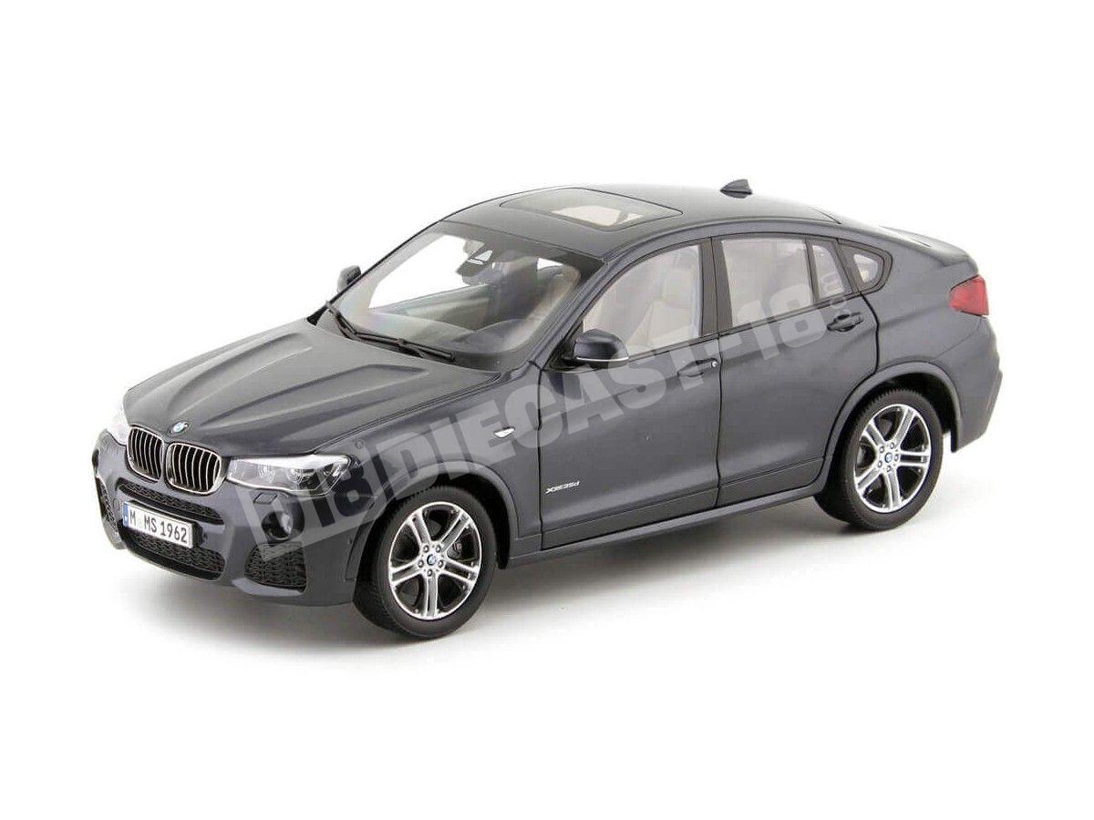 2014 BMW X4 F26 xDrive 35d Sophisto Grey 1:18 Dealer Edition 80432352461 Cochesdemetal.es