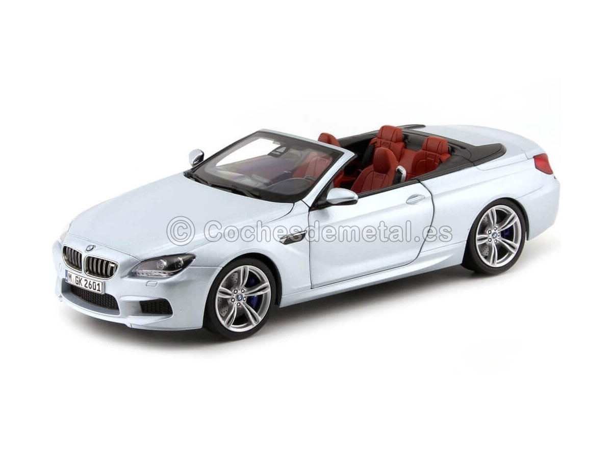 2015 BMW M6 Convertible Silverstone II 1:18 Dealer Edition 80432253656 Cochesdemetal.es