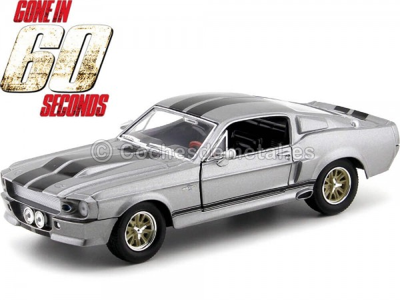 1967 Shelby GT 500E Eleanor 60 Segundos 1:24 Greenlight 18220 Cochesdemetal.es