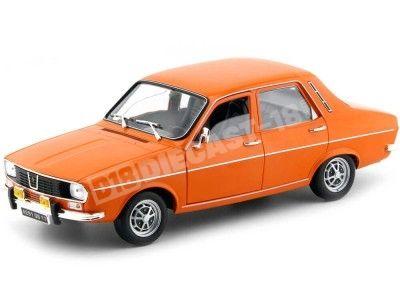 1973 Renault 12 R12 TS Orange 1:18 Norev 185211 Cochesdemetal.es