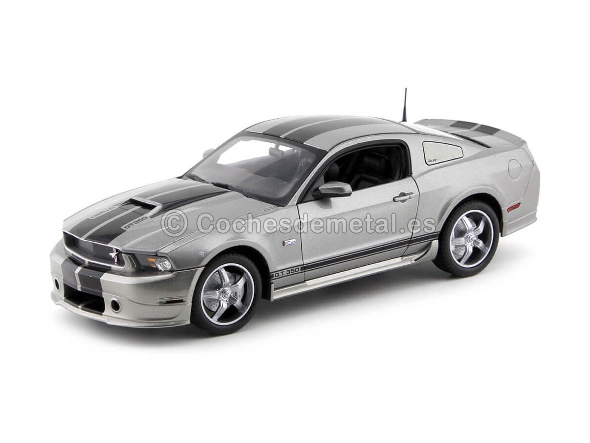 2011 Ford Shelby GT350 Tungsten Grey 1:18 Shelby Collectibles 355 Cochesdemetal.es