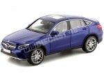 2016 Mercedes-Benz GLC Coupe (C253) Brillant Blue 1:18 Dealer Edition B66960805