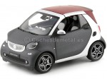 2015 Smart fortwo Cabriolet (A453) Grey/Silver 1:18 Dealer Edition B66960290