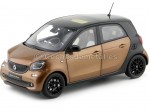 2015 Smart Forfour Coupe (W453) Black/Brown 1:18 Dealer Edition B66960299