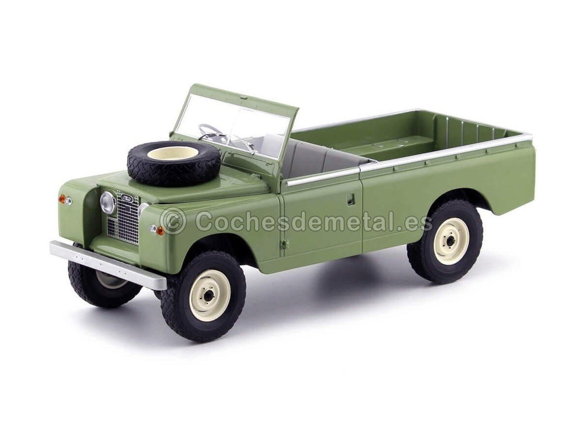 1959 Land Rover 109 Pick Up Series II Verde Oliva 1:18 MC Group 18093 Cochesdemetal.es