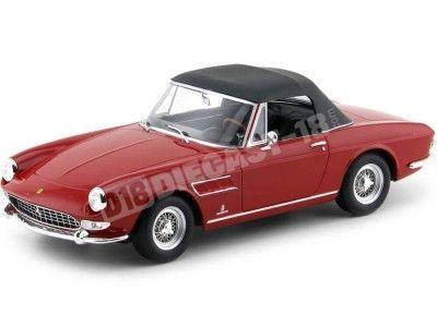 1964 Ferrari 275 GTS 4 Pininfarina Spyder Red 1:18 KK-Scale 180244 Cochesdemetal.es