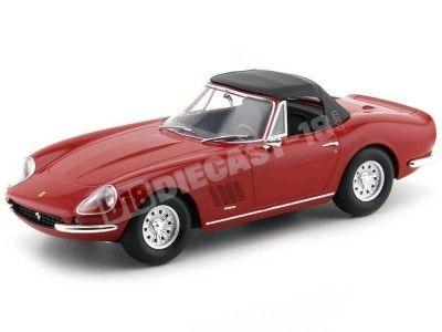 1967 Ferrari 275 GTB 4 NART Spyder Red 1:18 KK-Scale 180231