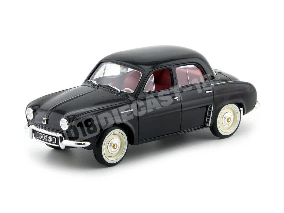 1958 Renault Dauphine Black 1:18 Norev 185169 Cochesdemetal.es