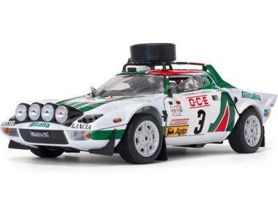 1976 Lancia Stratos HF Rallye du Maroc 1:18 Sun Star 4625 Cochesdemetal.es
