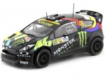 2012 Ford Fiesta RS WRC Valentino Rossi Winner Rally Monza 1:18 IXO Models 18RMC016
