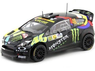2012 Ford Fiesta RS WRC Valentino Rossi Winner Rally Monza 1:18 IXO Models 18RMC016 Cochesdemetal.es