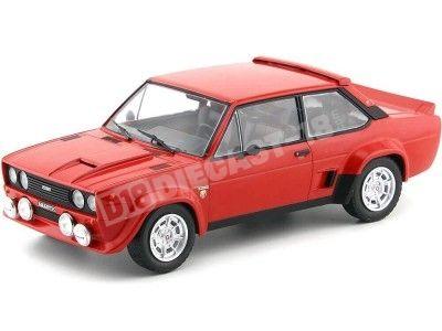 1980 Fiat 131 Abarth Street Version Red 1:18 IXO Models 18CMC003 Cochesdemetal.es