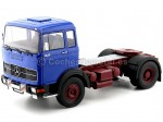 1969 Camion Mercedes LPS 1632 Dos Ejes Blue-Red 1:18 Road Kings 180022