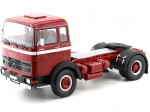 1969 Camion Mercedes LPS 1632 Dos Ejes Red-White 1:18 Road Kings 180021