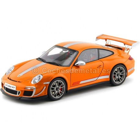 2011 Porsche 911 (997) GT3 RS 4.0 Coupe Orange 1:18 AUTOart 78148